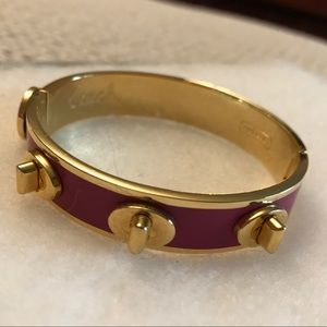 Coach Pink and Gold Bracelet